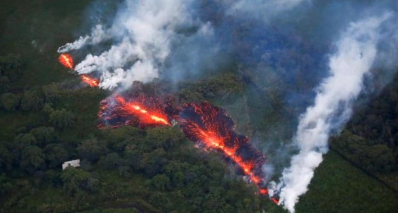 Последствия извержения вулкана Килауэа на Гавайях