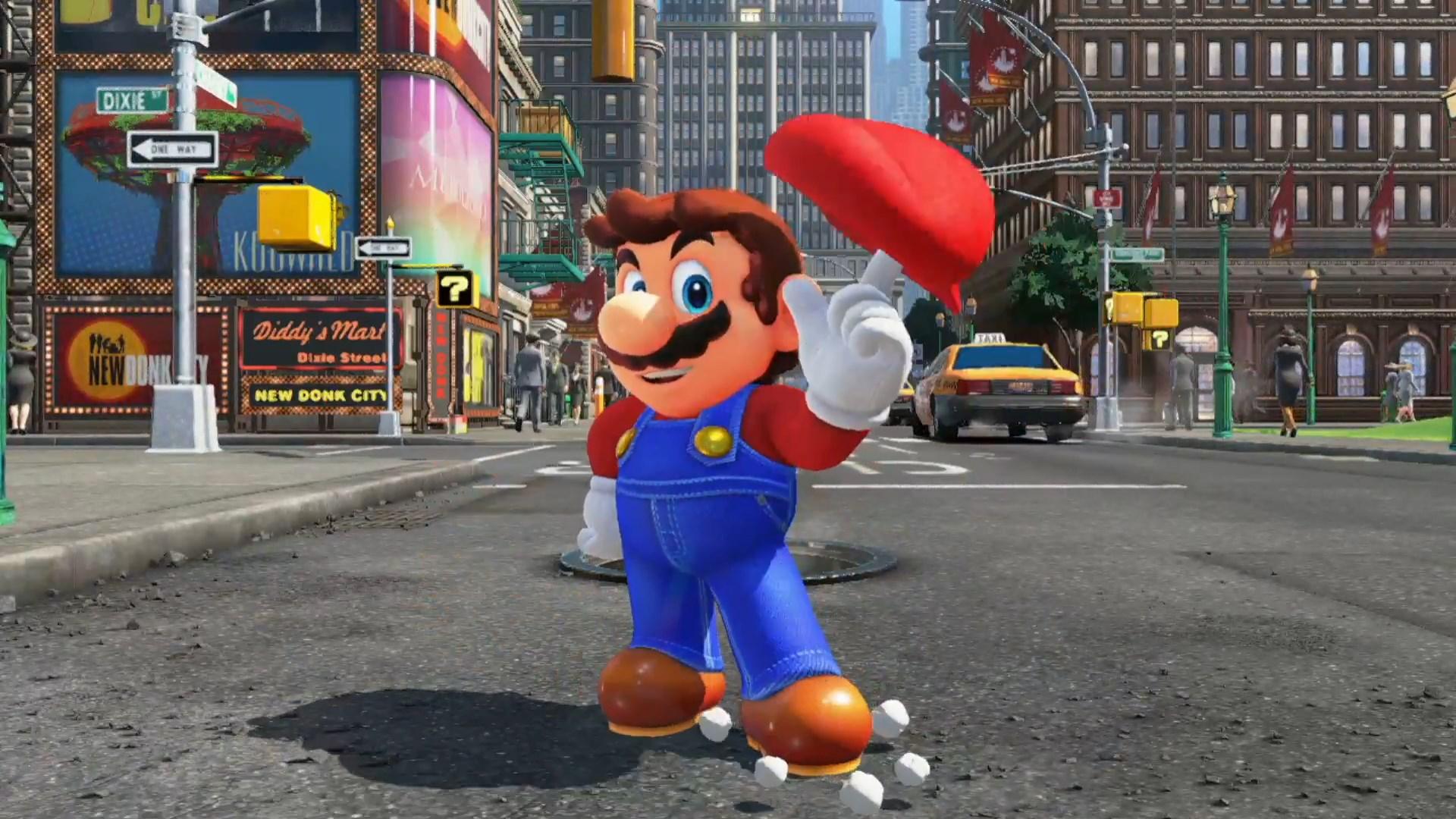 """Хакеры вставили """"картинки для взрослых"""" в детскую игру Super Mario Odyssey"""