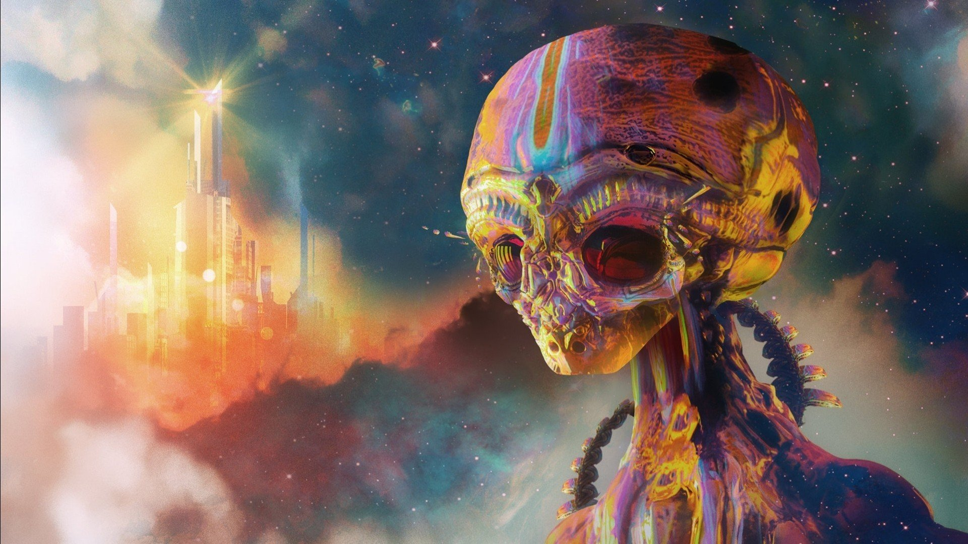 Американец стал свидетелем визита пришельцев на Землю