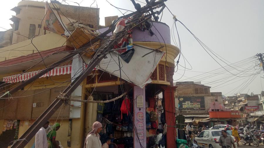 В Индии из-за урагана погибли 30 человек