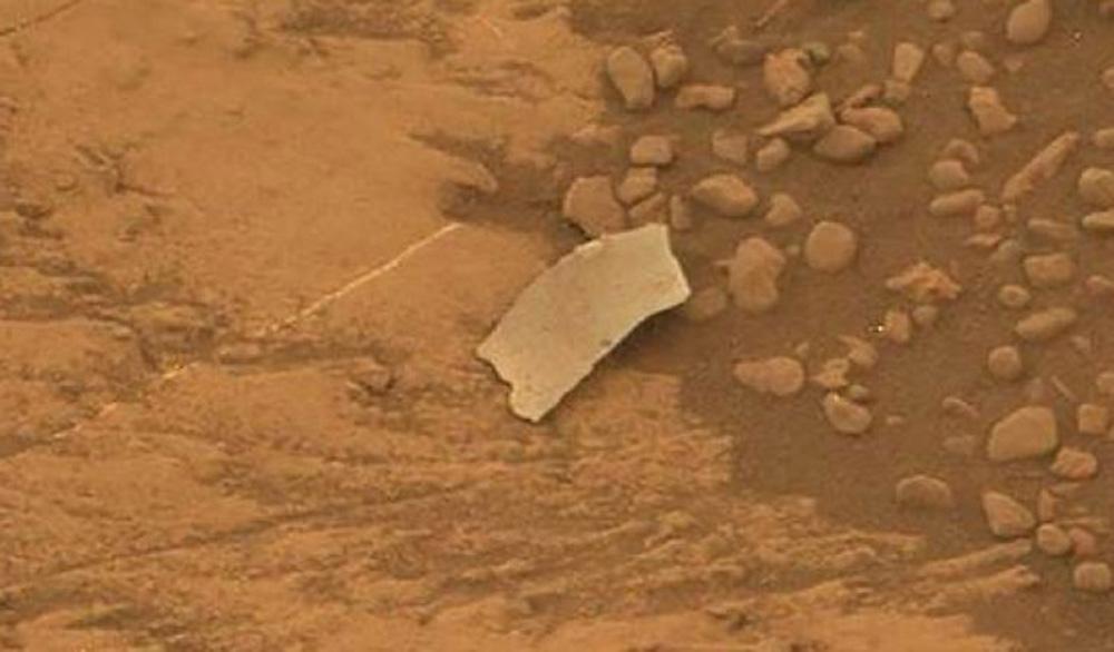 На Марсе обнаружен необычный объект