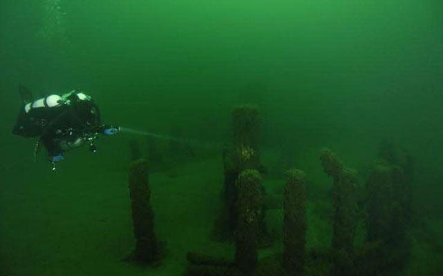 """Под озером Мичиган обнаружили еще один """"стоунхендж"""""""