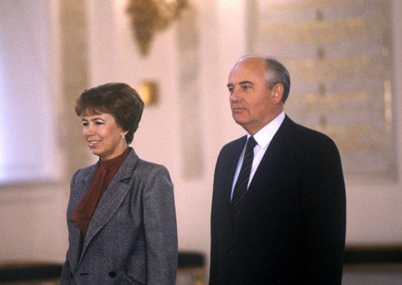 Были привязаны насмерть: неизвестная история любви Михаила и Раисы Горбачевых